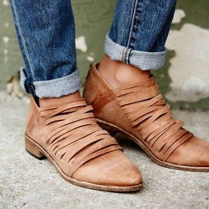 Free people lost valley booties